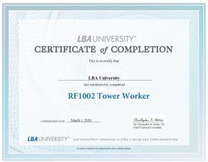 LBAU Version 2 Certificate