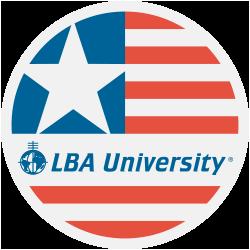 LBA University Sticker